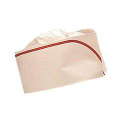 Calot papier lisière rouge (x100)