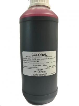 Coloral, colorant liquide Rouge