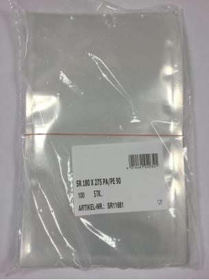 Sachets sous-vide 180x275mm, x100